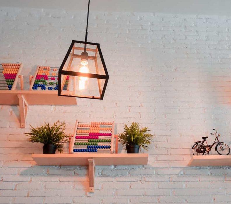 نصب روشنایی در محوطه